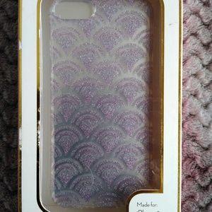 Accessories - Purple sparkled iPhone 6,7,8 plus case